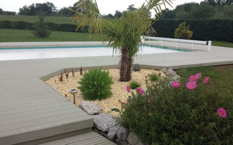 concept bois pvc plage de piscine composite. Black Bedroom Furniture Sets. Home Design Ideas